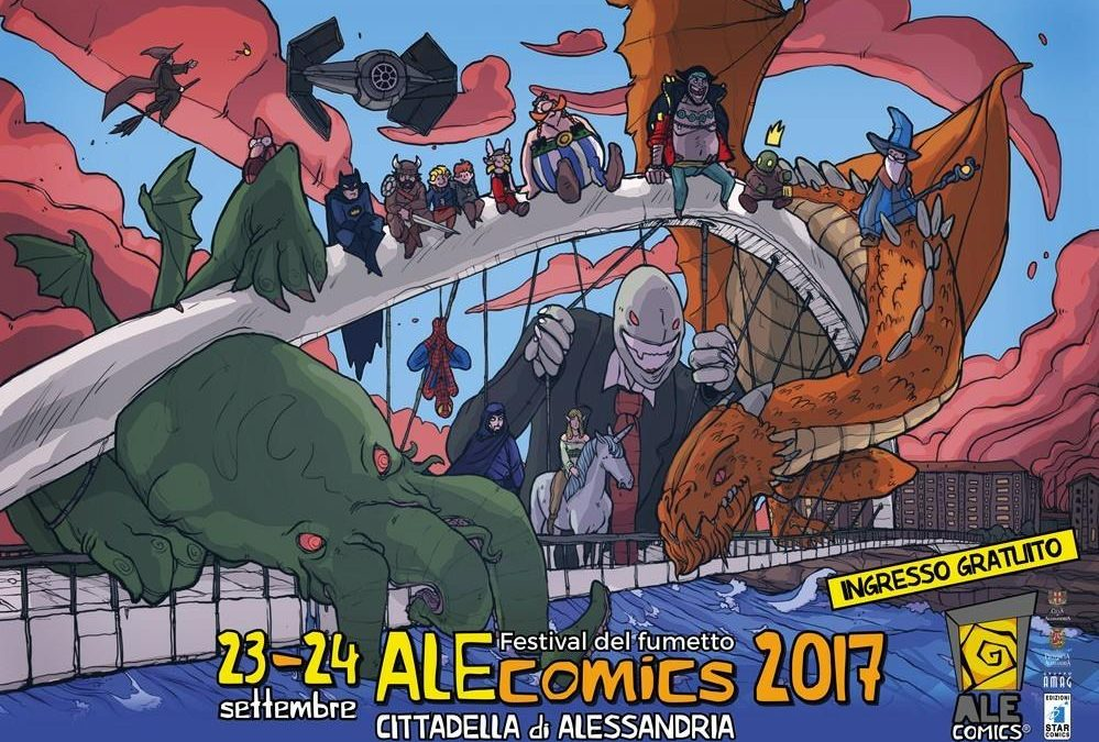 Ospite all'AleComics di Alessandria